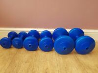 3 X SETS OF DUMBBELLS
