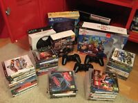 Huge PlayStation 3 PS3 bundle - console, controllers, games and more