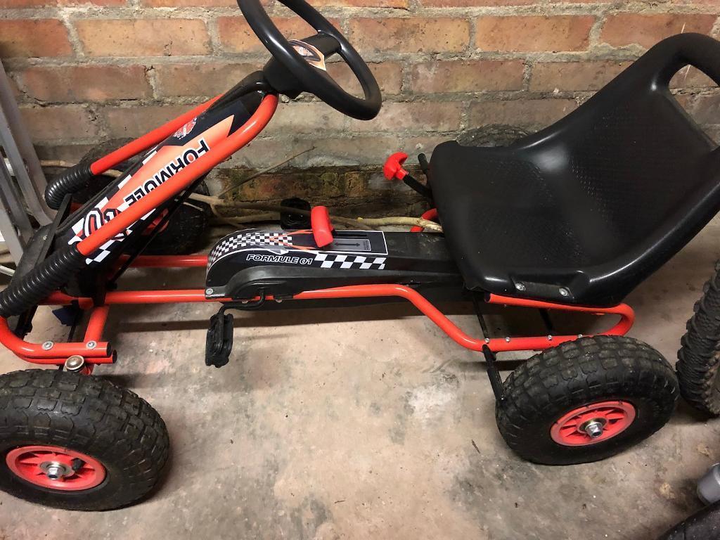 Boys Go Kart