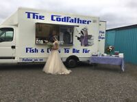Fish and chip van for any outdoor event