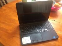 Dell Laptop (4GB+ 500GB+ Built in webcam+ Windows 7 + Good condition)