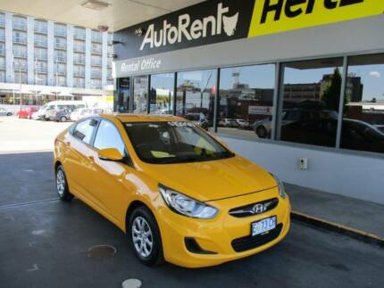 Be Bold In This 2014 Hyundai Accent Sedan Hobart CBD Hobart City Preview