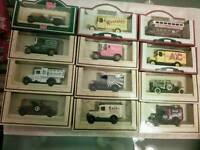 Models cars and lorrys