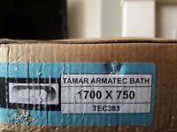 Technique tamar armatec bath, 1700 x 750 brand new, still in packaging