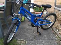 Traxx full suspension junior bike