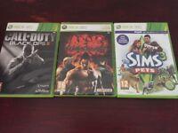 Xbox 360 games - £5 each