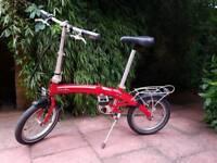 DAHON Curve D3 Folding Bike like Tern or Brompton