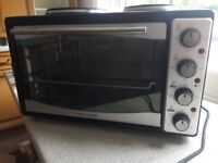 Andrew James mini oven, grill and hob 33l