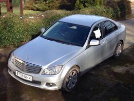 Mercedes C220 SE CDI A silver Reg 08 low mileage