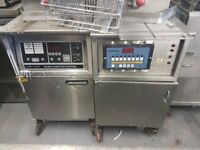 Henny Penny RG-600 Fastron Pressure Chicken Gas Fryer Henney Penney Computerised Digital Machine