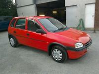 96 Vauxhall Corsa 1.4 LS only 47000 mls history ( can be viewed inside anytime