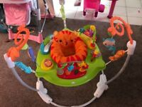Jumperoo and baby walkers