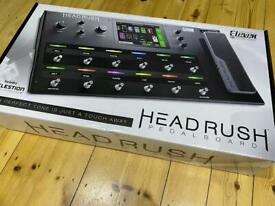 Headrush pedalboard modelling guitar fx may trade
