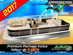 2017 Legend Boats Ponton Bayshore Bar Mercury 25 EL Bateau pêche