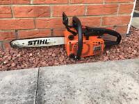 Stihl 010 av chainsaw quickstop , STIHL 010AV