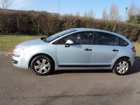 06'citroen c4 1.4 5'door low miles fsh drives superb