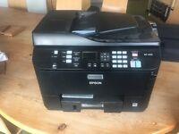 Epson wp-4535 multi function printer hardly used gathering dust