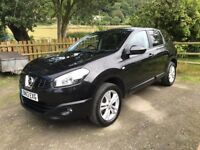 Nissan Qashqai+2 1.6 Acenta 5dr 7 seater, includes RAC cover until March