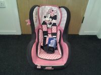 Minnie Mouse Mania Cosmo SP group 0/1 car seat