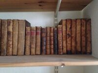 29 Antiquarian books, dating from 1712