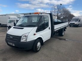 2013 Ford Transit Dropside . Low Mileage.