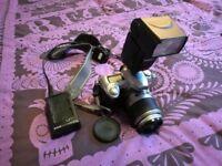 nikon d50 digital camera dslr + flash