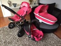 Quinny buzz travel system with pebble maci cosi car seat