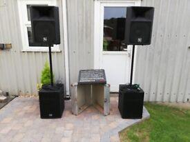 Full PA Band or DJ