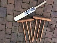 Kids Cricket Bat and stumps