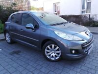 Peugeot 207 1.6 HDi Sportium 5dr£3,200 p/x welcome 6 MONTHS NATIONWIDE WARRANTY