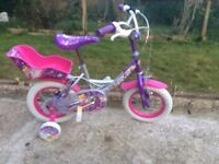 "KIDS GIRLS CHILDREN CONCEPT PIXIE 12"" WHEEL AGES 3-8 LOOK LIKE NEW BIKE BICYCLE"