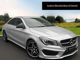 Mercedes-Benz CLA CLA220 CDI AMG SPORT (silver) 2014-04-11