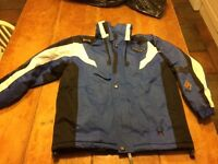 SPYDER Boys winter ski coat nearly new age 8-10