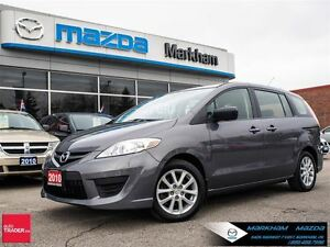 2010 Mazda MAZDA5 GS AT AC ALLOY CLEAN CARPROOF 6 SEATERS
