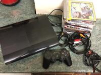 PlayStation 3 super slim 12GB + 9 Games