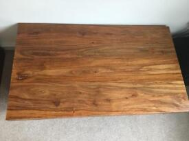 Large Sheesham Wood Coffee Table