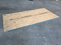 CHIPBOARD SHEETS, 8FT x 4FT CHIPBOARD SHEETS, 10mm THICK, RECLAIMED TIMBER
