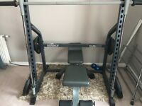 Marcy SM600 weight bench great condition with weights ... can be dismantled