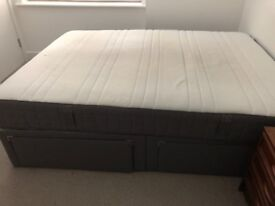 Super King Size Bed - Divan with drawers
