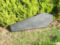 Guitar Coffin Case (for B.C Rich Warlock)