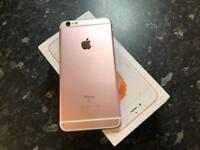 Apple iPhone 6s Rose Gold 16GB unlocked