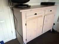 IKEA sideboard cupboard cabinet unit with drawers cream/off white