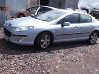 Peugeot 407 2.0HDI Semi Auto spares or repair £430