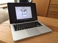"13"" Macbook Pro - Mid 2010 2.4GHz with upgraded 8GB RAM - Fully working, Very good condition"