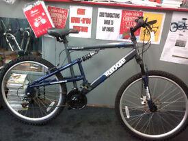 gents duel suspension mountain bike