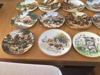 Bradford Exchange collectable plates