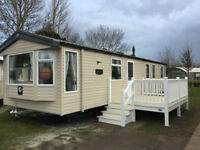 8 berth caravan Haggerston castle central heating decking plenty of dates left book now