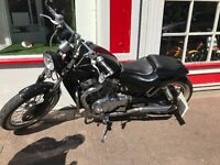 Suzuki 700cc VN Motorcycle Custom