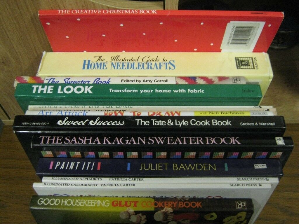 Craft books, various crafts £1 each, 2 for £1.50