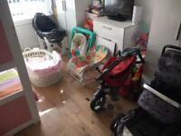 Pram crib Moses basket walker bike car seat